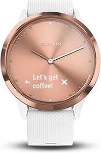 Garmin Vívomove Hr Hybride Smartwatch Dames