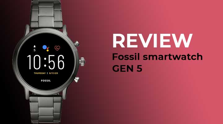 Fossil Smartwatch Gen 5 Review