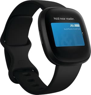 Fitbit Versa 3 Horloge